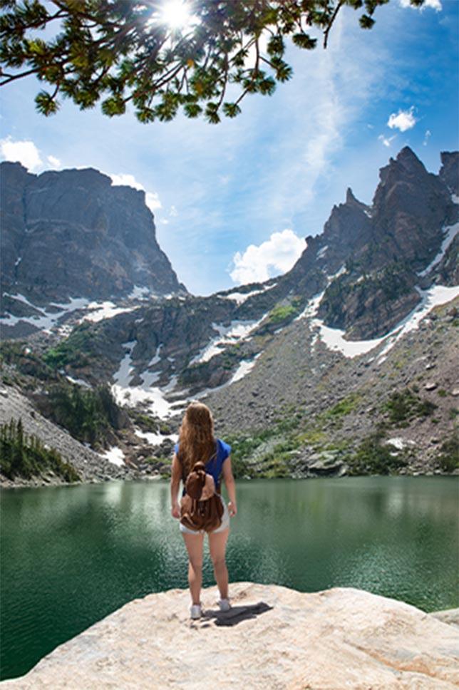 Estes Park Lake Overlook