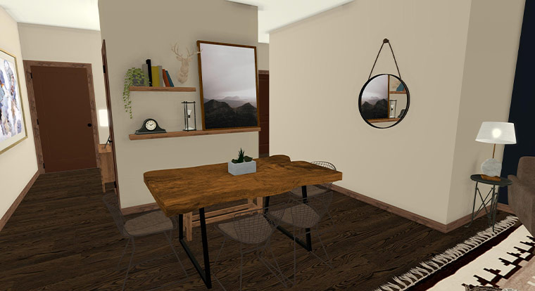 Workforce Condo 2 Bed Dining Table