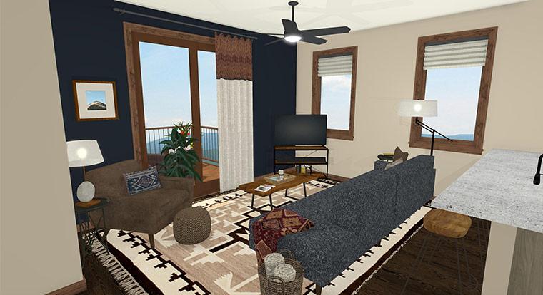 Workforce Condo 2 Bed Living Room