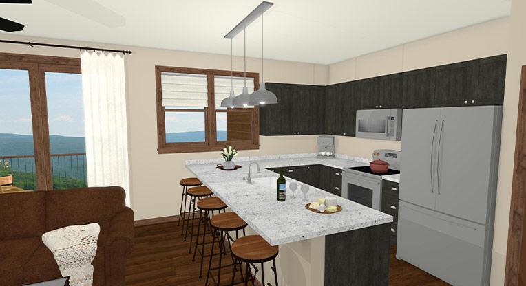 Workforce Condo 3 Bed Kitchen 2