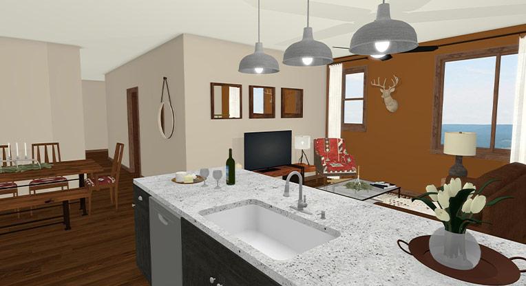 Workforce Condo 3 Bed Kitchen