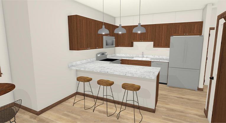 Workforce Condo Kitchen 1