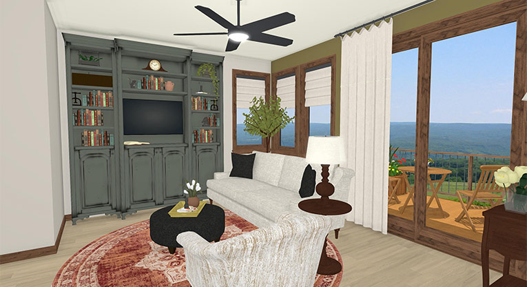 Workforce Condo Living Room