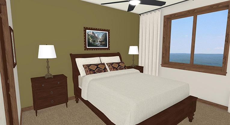 Workforce Condo Master Bed 2