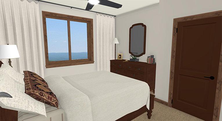 Workforce Condo Master Bed
